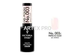 VICTORIA VYNN GEL POLISH COLOR NO.003 PERFECTLY NUDE 8ML
